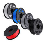 New BIQU Gray/Black/White/Blue/Red 1KG/Roll 1.75mm PLA Filament for RepRap 3D Printer
