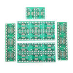 New 20pcs TSSOP16 SSOP16 MSOP16 SO16 SOP16 SOIC16 Turn DIP16 1.27MM / 0.65MM IC Adapter Socket Adapter Plate PCB Board