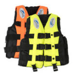 New S Size Life Jacket Life Buoy Gilet For Adult Kids Boat Jacket Water Sports Gear Clothing