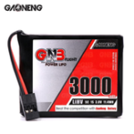 New Gaoneng GNB 3.8V 3000MAH 1S 5C HV LiPo Battery for Sanwa MT-44 FH4T Remote Controller