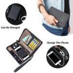 New Portable Charging Wallet Lightweight Clutch Bag