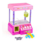 New Electronic Claw Game Crane Candy Doll Machine Grabber Kids Toys Home Arcade Gift