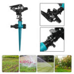 New 1/2 Water Farm Sprinklers Rocker Nozzle Lawns Garden Watering Irrigation System