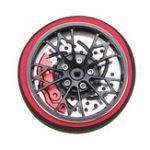 New Black Color 6061 Aluminum Alloy Remote Control Handwheel for SANWA MT4/MT4S/MT44/M11X/M11/MX-V