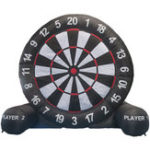 New 4M/13ft High Giant Inflatable Dart Board For Game Soccer With Air Blower 220V