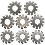 New 8pcs Module 1.75 PA20 HSS #1-8 Involute Gear Milling Cutter Inside Bore 22mm
