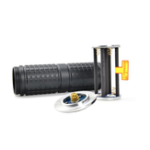 New Extension Tube for ASTROLUX MF01 MF02 MF02S MF04 MF04S Spare Long Body Tube Set with Battery Holder & Plate