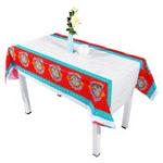New 108x180cm Home Decorative Ramadan Eid Mubarak Tablecloth Dining Table Cover
