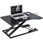 New Baize 2105 Stand-up Office Lift Monitor Bracket Notebook Vertical Stand Computer Desk Workbench Movable