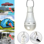 New DC5V 7W 5 Modes USB Rechargeable Pure White LED Light Bulb for Emergency Outdoor Tent Camping