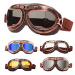 New Motorcycle Scooter Helmet Goggles Anti UV Glasses