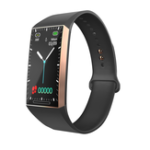 New Bakeey S18 1.14′ Big Screen Continuous Heart Rate Blood Pressure Menstrual Period 15Days Standby Smart Watch Band