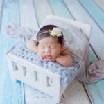 New Newborn Baby Mini Wood Bed Detachable Wooden Photography Photo Prop For Shoot