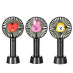 New Mini USB Rechargeable Handheld Fan For Travelling Outdoor Office Creative 3 Speed Cooling Fan