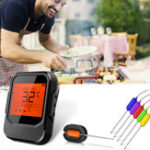 New 6 Probes Wireless Smart BBQ Thermometer Meat Food bluetooth Wifi For IOS Android