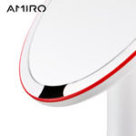 New AMIRO 8 Inch LED Lighted Makeup Mirrors On/Off Smart Sensor True Color Clarity System White