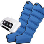 New 6 Air Chambers Leg Compression Massager Arm Waist Calf Relax