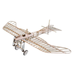 New Etrich Taube 420mm Wingspan Monoplane Balsa Wood Laser Cut RC Airplane Kit With Power System