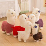 New Cartoon Alpaca Plush Doll Toy Fabric Sheep Soft Stuffed Animal Plush Llama Yamma Child Baby Gift