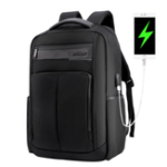 New ARCTIC HUNTER B00121C 18 Inch Laptop Backpack USB Charging Laptop Bag Mens Shoulder Bag Business Casual Travel Backpack Korean Style Backpack