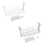 New Under Desk Cable Management Tray Wire Cord Power Strip Adapter Organizer Shelf Bracket