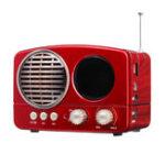 New M-163BT Portable FM Radio TF Card USB bluetooth Speaker MP3 Music Player