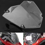 New Front Headlight Guard Clear Cover Lens Protector For BMW R1200GS ADV WC 13-17