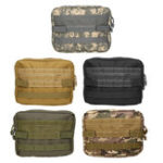 New Multifunctional Rescue Medical Package Camouflage Outdoor Tactical Army Molle Bag Hiking Travel Tool Bag