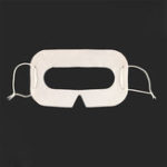 New CLAITE 100 pcs White VR Helmet Disposable Eye Mask