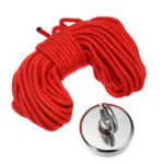 New 300KG D75mm Neodymium Recovery Magnet Fishing Treasure Metal Detector with 20 Metre Rope