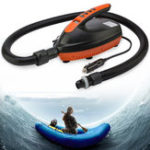 New 12V LED Display Outdoor Sports SUP Vehicle Inflatable Pump Paddle Board Dinghy Kayaking Air Pump with 6pcs Air Tap