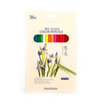 New AIHAO 9015 36 Colors Colored Pencils Painting Drawing Sketching Pencil Set Crayon Stationery Office School Supplies