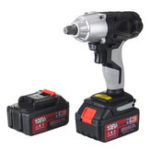 New 108VF 12800mAh Cordless Electric Impact Wrench Drill Driver Kit W/ Lithium-Ion Battery