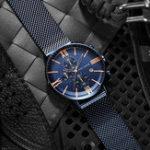 New MINI FOCUS MF0236G Business Chronograph Men Quartz Watch