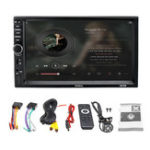 New 7 Inch 2Din Touch Car MP5 Player bluetooth Stereo FM Radio USB TF AUX