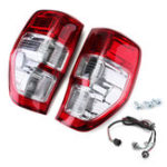 New Car Rear Tail Light Assembly Brake Lamp with Wiring Harness for Ford Ranger Ute PX XL XLS XLT 2011-2018