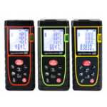 New Portable Handheld Digital Laser Point Distance Meter Range Finder Measure Tape One Button Operation High Accuracy