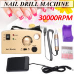 New 30000RPM Electric Nail Drill Art Pen Polish Machine Manicure Pedicure Tool