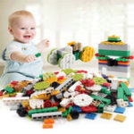New Particulate Building Blocks Assembly DIY Kindergarten Enlightenment Building Blocks Toys