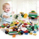 New Particulate Building Blocks Assembly DIY Kindergarten Enlightenment Building Blocks Toys