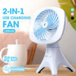 New Portable Mini Rechargeable USB Adjustable Cooling Humidifier