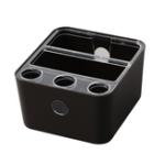 New ZH-123 Detachable Plastic Storage Box Washable Makeup Cosmetic Organizer Remote Control Storage Holders Home Office Desktop Organizers