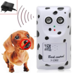 New Loskii Dog Repeller New Dog Anti Bark Ultrasonic Humanely Anti No Bark Device Stop Control Dog Barking Silencer  Pet Trainer