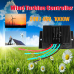 New 12/24V 1000W Auto Reset Solar Wind Turbine Generator Charge Controller Regulator