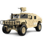 New HG P408 Upgraded Light Sound Function 1/10 2.4G 4WD 16CH 30km/h Rc Model Car U.S.4X4 Truck without Battery Charger