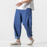New Mens Summer Cotton Sports Soft Comfortable Casual Pants