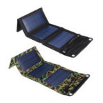 New 10W 5.5V Waterproof Portable Foldable Solar Panel Charger with USB Port