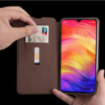 New MOFI Shockproof PU Leather Flip Card Slot With Stand Full Body Protective Case For Xiaomi Redmi 7