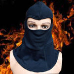 New Fire Insulation Safety Work Helmet Flame Retardant Knitted Fabric Headgear High Temperature Working Head Face Protection