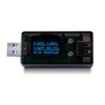 New  BY56U 4 Bit USB Tester Voltmeter Amperimetro Voltage Ammeter Current Detector Power Charger Capacity Indicator
